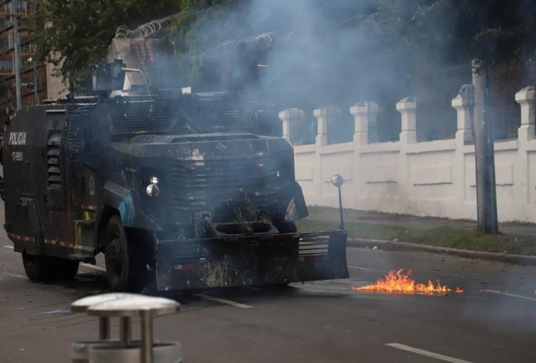 Disturbios Pedagógica - 19 de febrero