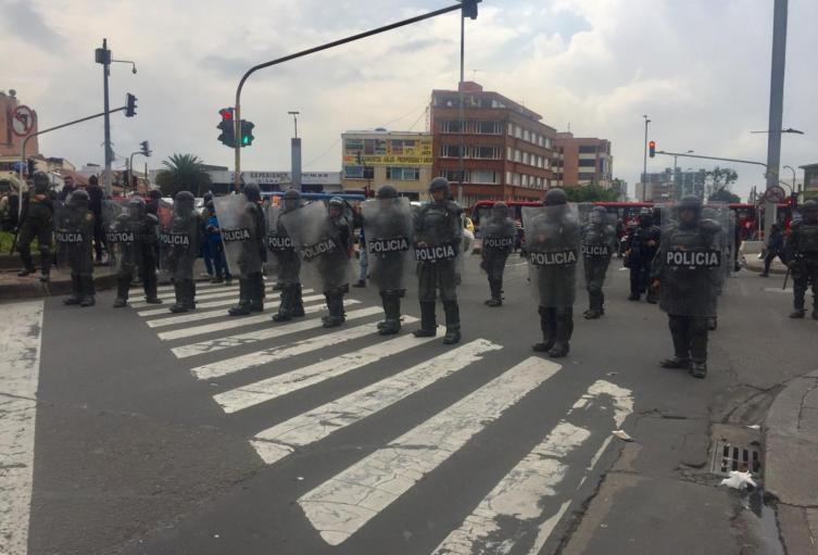 Disturbios en la calle 72
