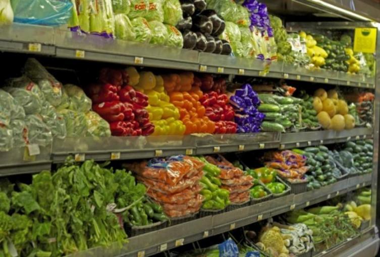 Plaza de mercado, alimentos