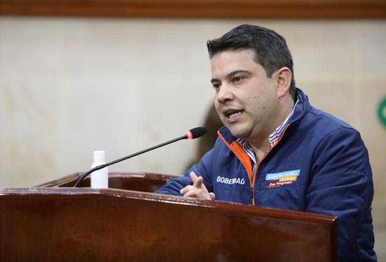 Nicolás García, gobernador de Cundinamarca