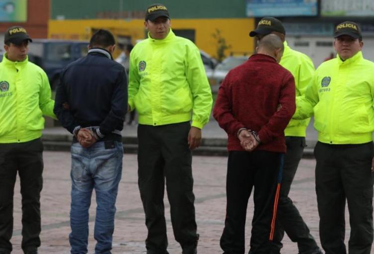 Integrantes de 'Los Parnaso', los señalabados operaban en Rafael Uribe Uribe.