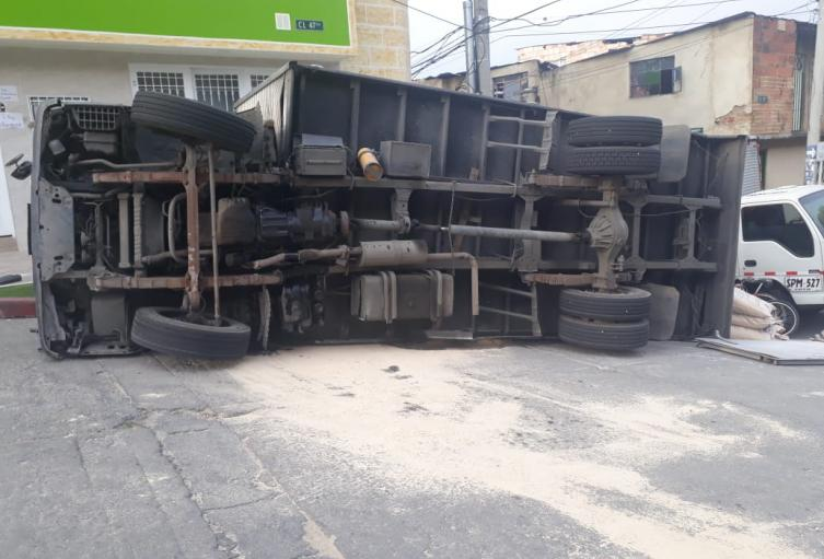 Accidente de Furgón