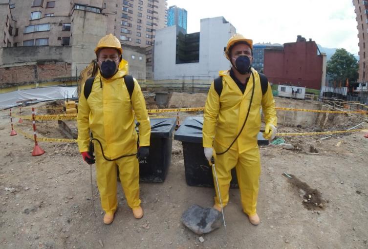 Primera empresa privada de construcción en reiniciar labores en Bogotá