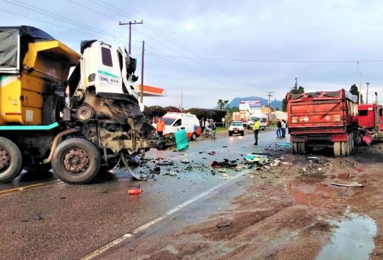 Accidente en Ubaté