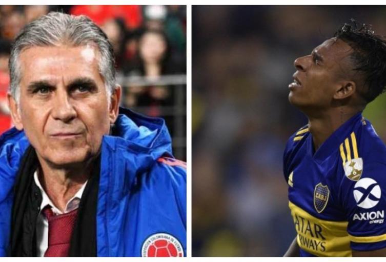 Queiroz y Sebastián Villa
