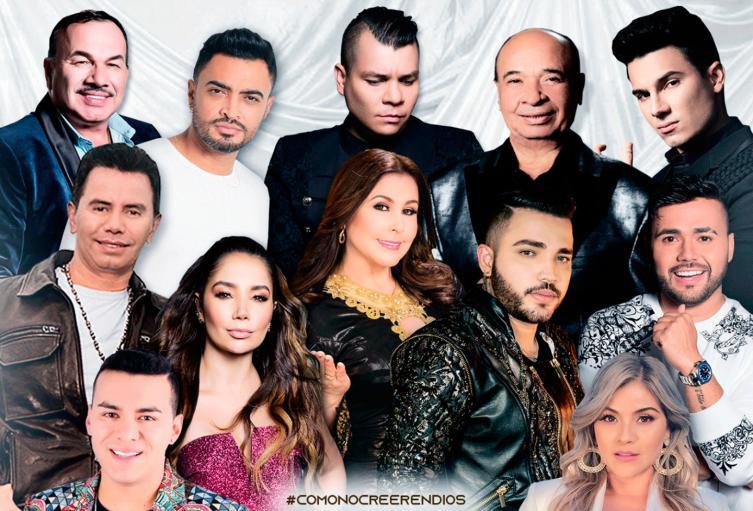 Cantantes de música popular en Colombia se unen en 'Como no creer en Dios'