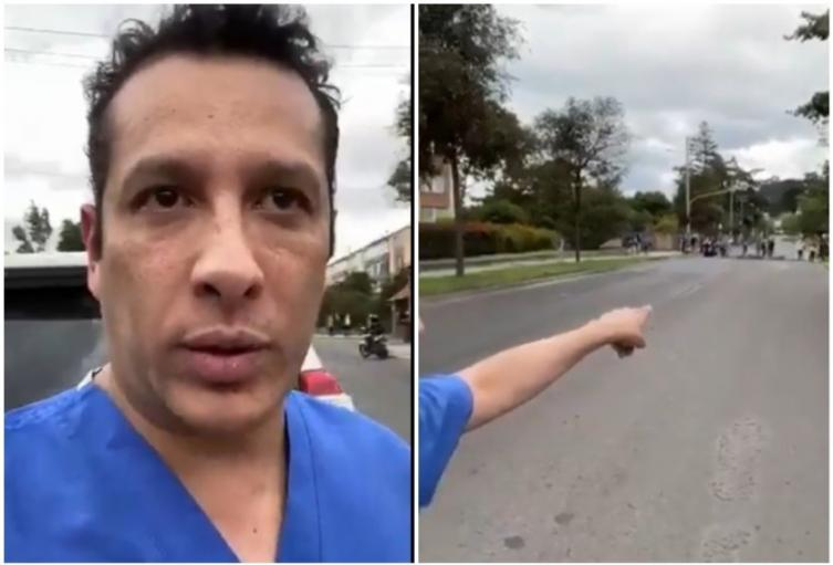 Cirujano denuncia que fue atacado por venezolanos