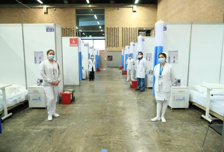 Hospital en Corferias