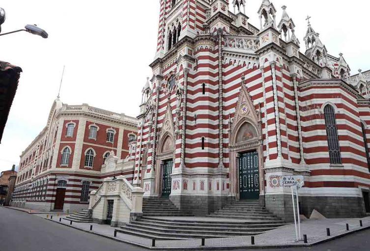 Iglesias-Domingo de Ramos en Bogotá durante cuarentena