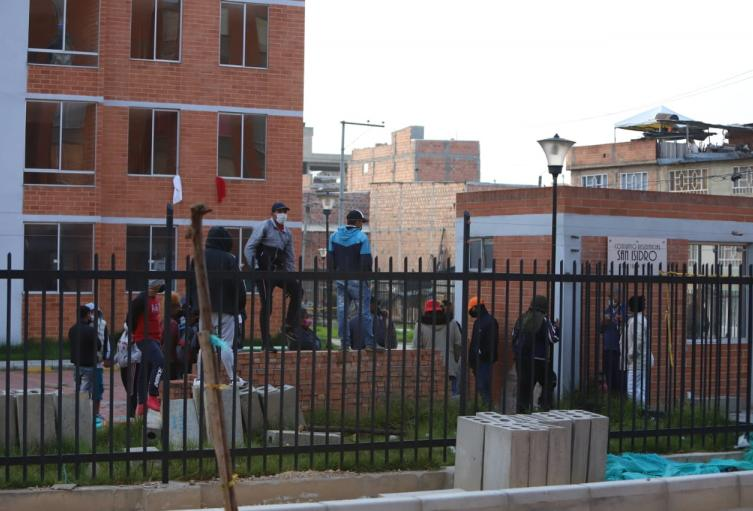 Protestas en conjunto de Soacha