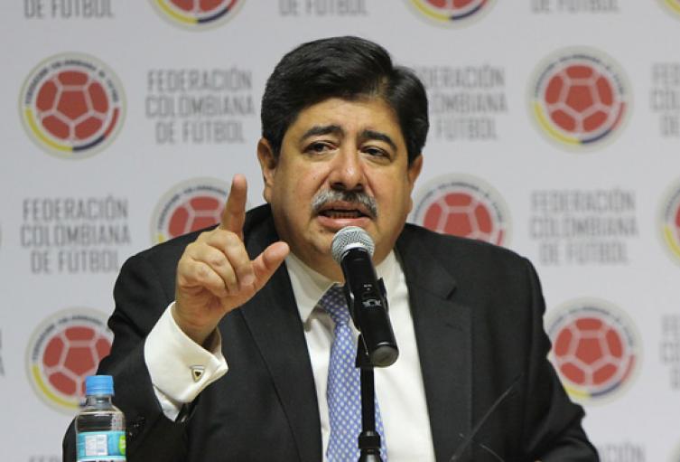 Luis Bedoya, expresidente de la Federación Colombiana de Fútbol