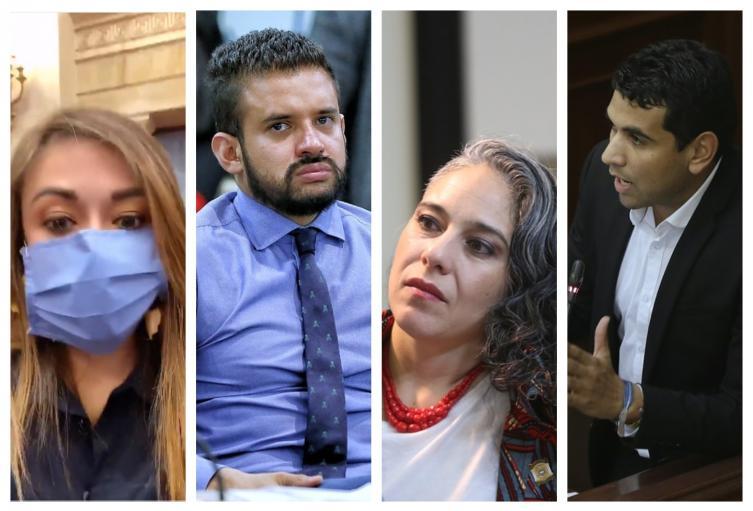 Congresistas denunciados por violar la cuarentena