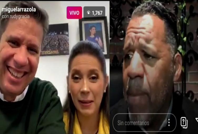 Miguel Arrázola y Ruddy Gracia
