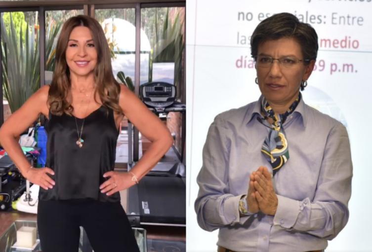 Amparo Grisales y Claudia Lopez