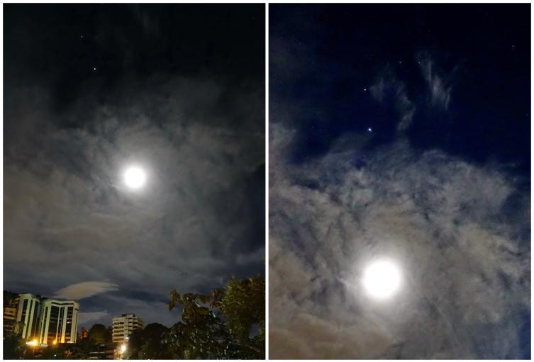 Luna en Colombia