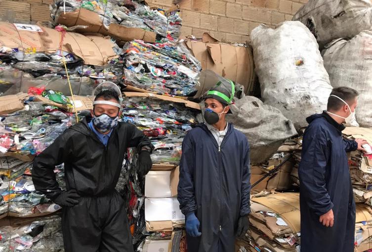 Recicladores de Bogotá, un trabajo sin pausa
