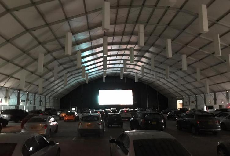 Autocinema en Bogotá