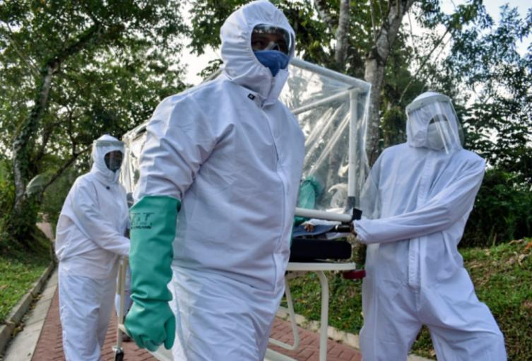 Coronavirus en Colombia / pacientes contagiados