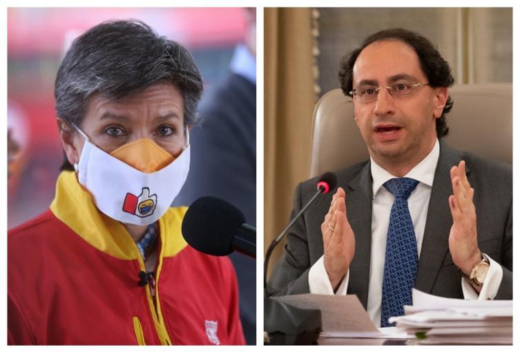 Claudia López y José Manuel Restrepo