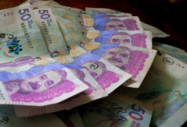 Billetes colombianos