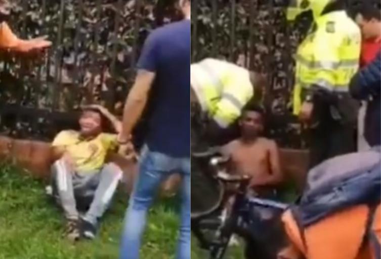 Ladrón golpeado en Suba