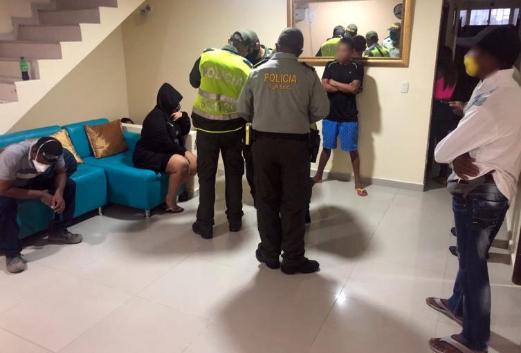 Motel clandestino en Cartagena