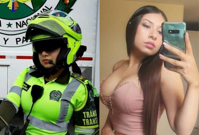 Ana Arias, patrullera sexy