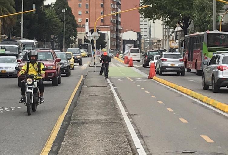 Ciclorrutas en Bogotá: concejales debaten sobre posibilidad de tomar más espacios de las vías vehiculares