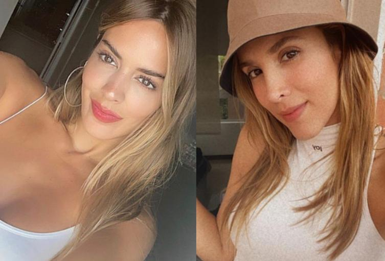 Shannon de Lima y Daniela Ospina