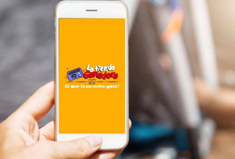 Aplicación del programa La Tienda Ganadora de RCN Radio.