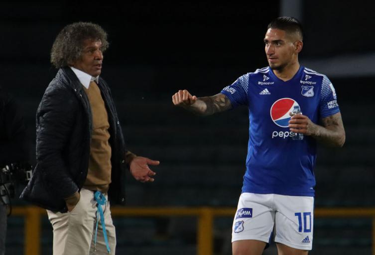 Millonarios, Alberto Gamero, Cristian Arango