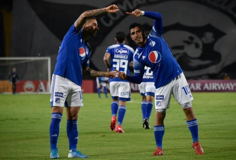 Cristian Arango y Diego Godoy, Millonarios