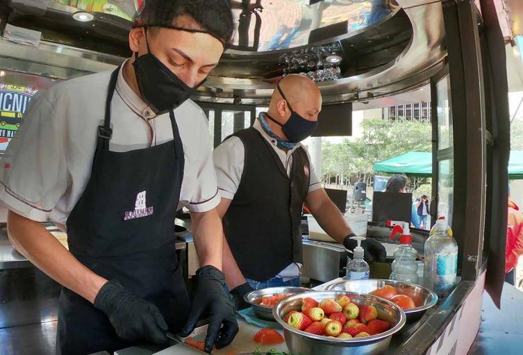 Los Food Trucks prenden motores para reiniciar labores en Bogotá