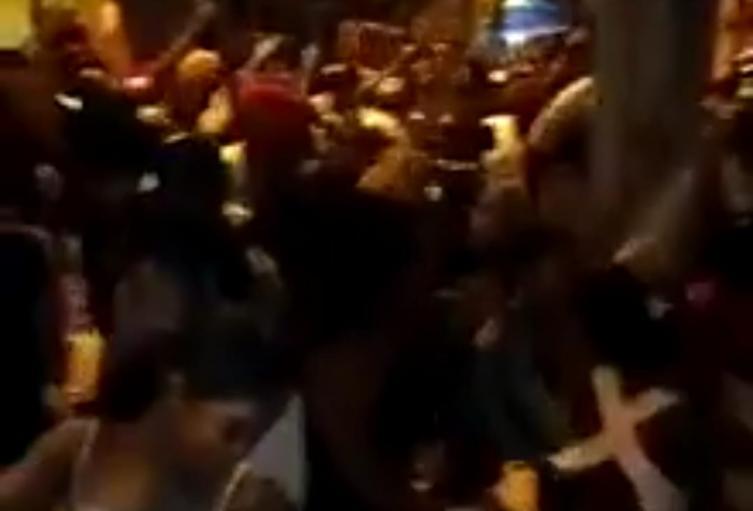 Video de otra megafiesta con 150 personas en el barrio Moravia de Medellín