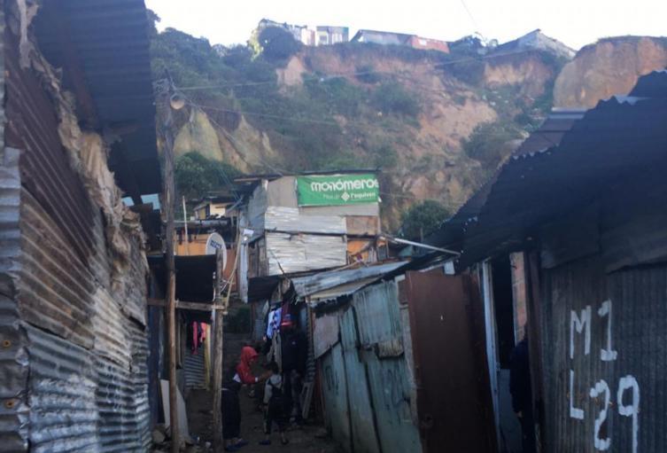 Derrumbe en Ciudad Bolívar: lluvias en Bogotá