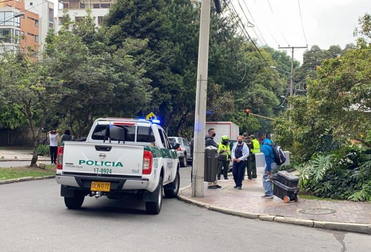 Tiroteo cerca del Liceo Francés, ante intento de hurto, en Bogotá