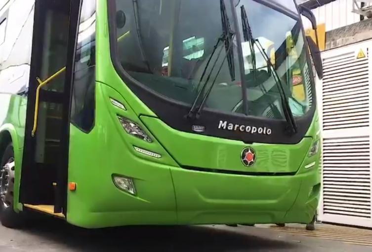 Bus eléctrico SITP