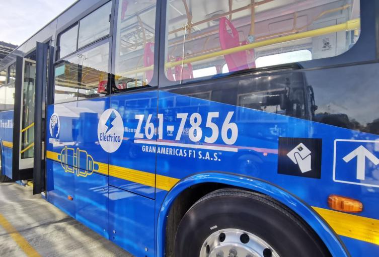 Buses eléctricos de Bogotá