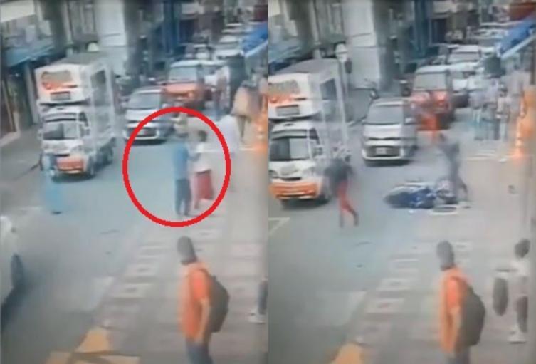 Motociclista que defendió a mujer agredida recibió varias puñaladas