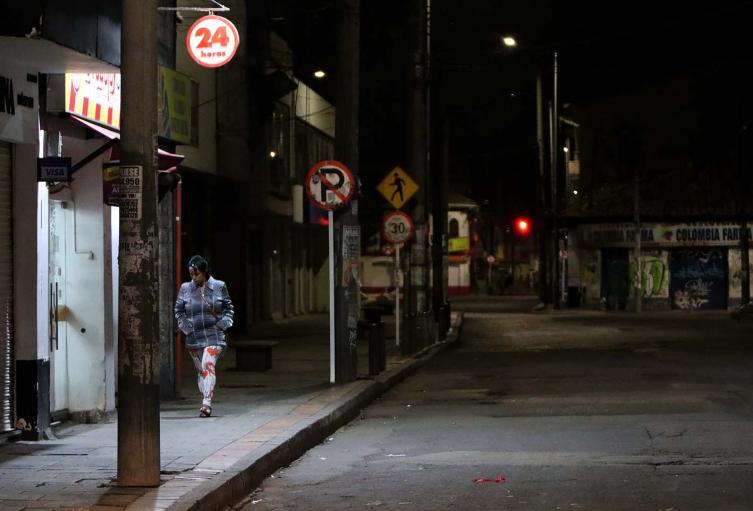 Así amaneció Bogotá en medio del nuevo toque de queda