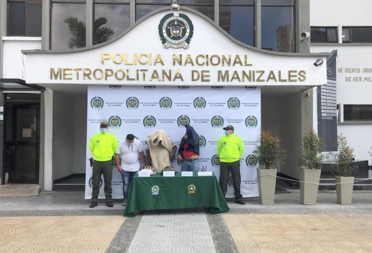 Condena a tres hombres por hurto en Manizales