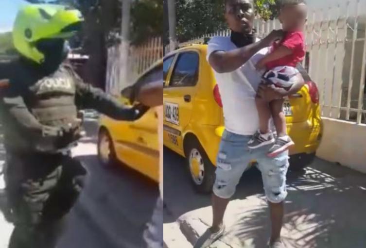 Sujeto en Santa Marta amenazó con cortarle el cuello a su hijo con un bisturí