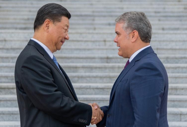Iván Duque en China