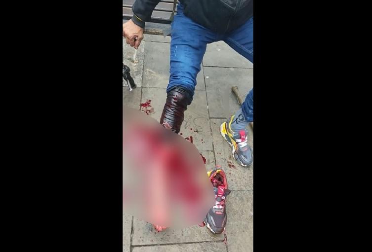 Apuñalado por ladrona en el centro de Bogotá