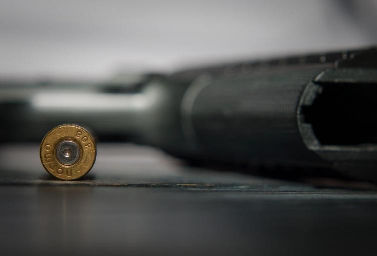 Arma de fuego de ilustración