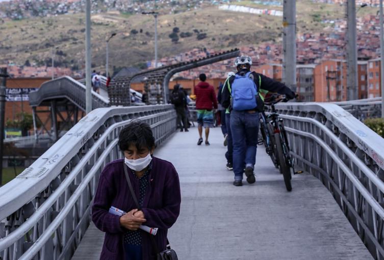 Uso de tapabocas es obligatorio en Bogotá por el coronavirus
