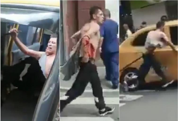 Paloterapia a ladrón en Medellín