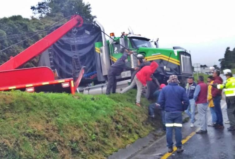 Accidente Bogotá - Tunja