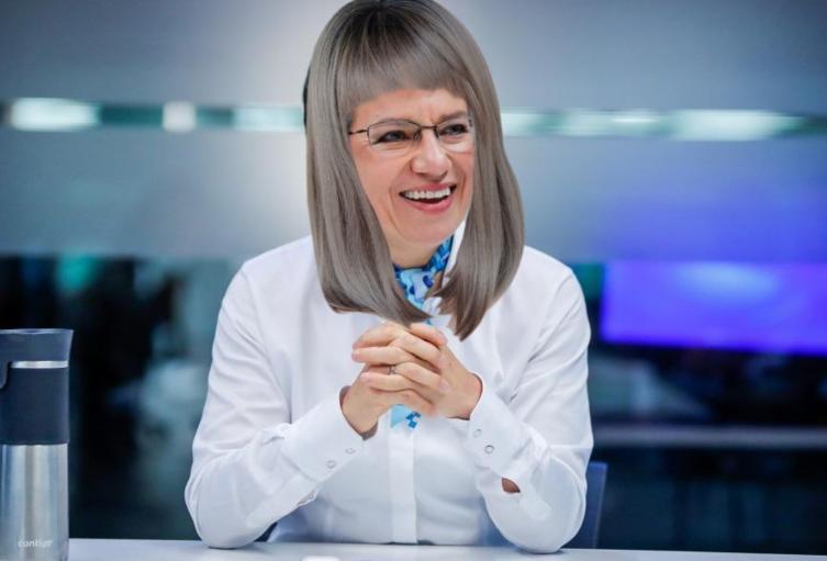 Claudia López y la keratina