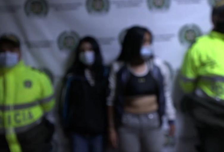 Captura de mujeres tras robo